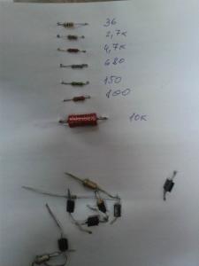 Резисторы сопротивления диоды стабилитрон фото
