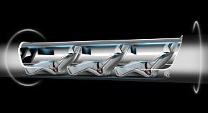 Новое транспортное средство Hyperloop